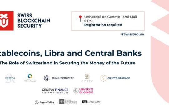 Konferenz über Stable Coins in Genf